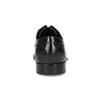 Kožené polobotky s prošitím na derbě bugatti, černá, 824-6012 - 15