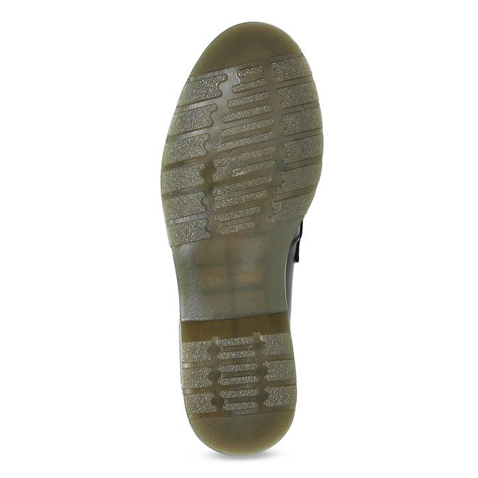 Kožené pánské mokasíny na výrazné podešvi bata, černá, 814-6176 - 18