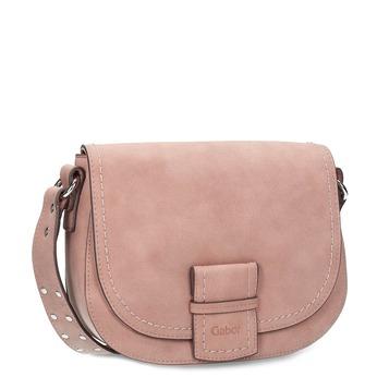 Crossbody kabelka se širokým popruhem gabor-bags, růžová, 961-5015 - 13