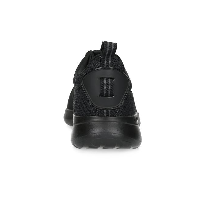 Pánské černé tenisky sportovního stylu adidas, černá, 809-6268 - 15