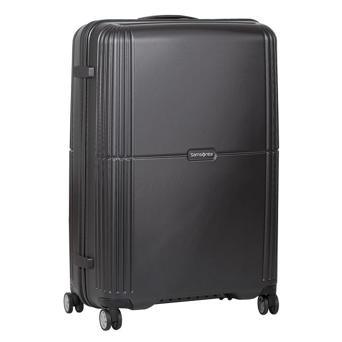 Skořepinový cestovní kufr samsonite, černá, 960-6612 - 13