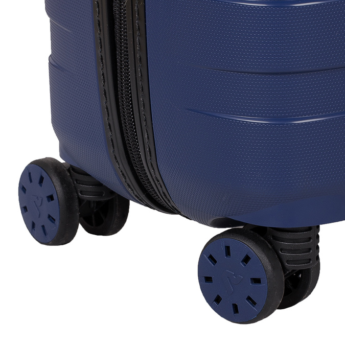 Menší cestovní kufr na kolečkách roncato, modrá, 960-9608 - 16