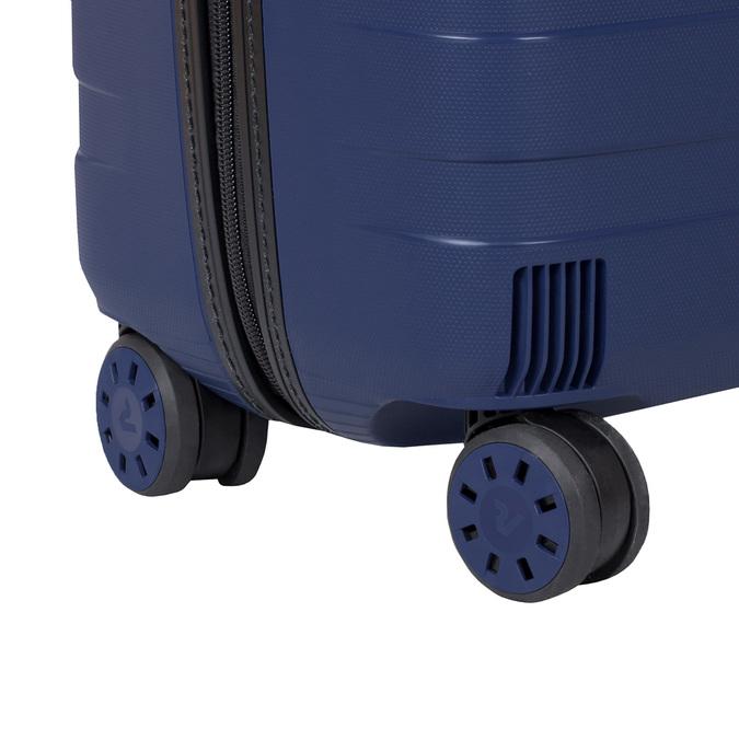 Modrý cestovní kufr na kolečkách roncato, modrá, 960-9610 - 16