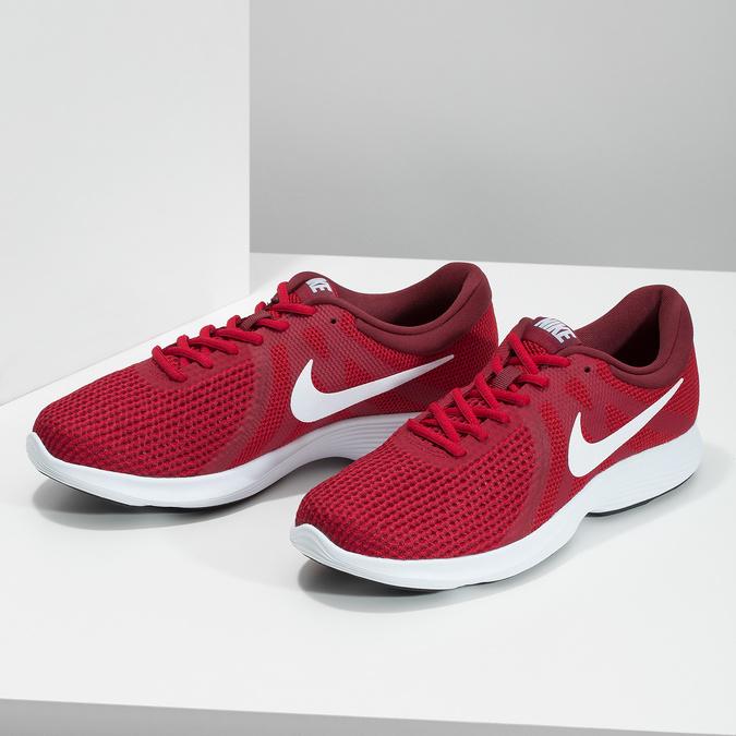 Červené pánské tenisky sportovního vzhledu nike, červená, 809-5651 - 16