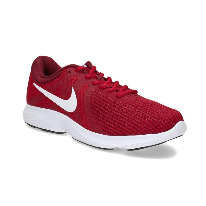 Nike Červené pánské tenisky sportovního vzhledu - Sportovní styl ... 549a63f3223