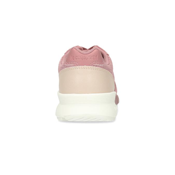 Růžové dámské tenisky z broušené kůže le-coq-sportif, růžová, 503-5309 - 15