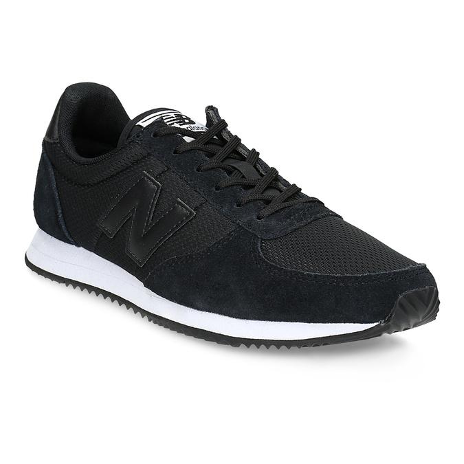 Černé dámské tenisky sportovního střihu new-balance, černá, 509-6871 - 13