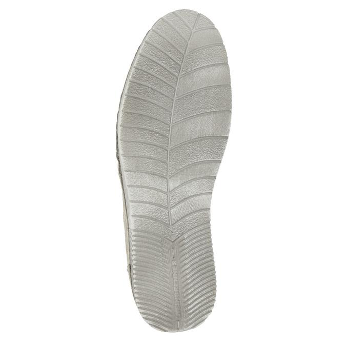 Dámské šedé kožené tenisky weinbrenner, šedá, 546-2617 - 19
