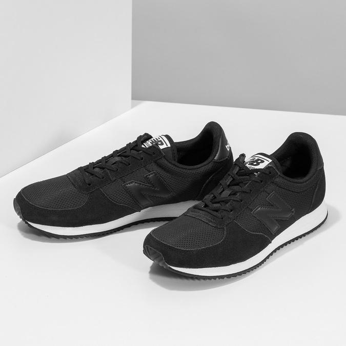 Černé dámské tenisky sportovního střihu new-balance, černá, 509-6871 - 16