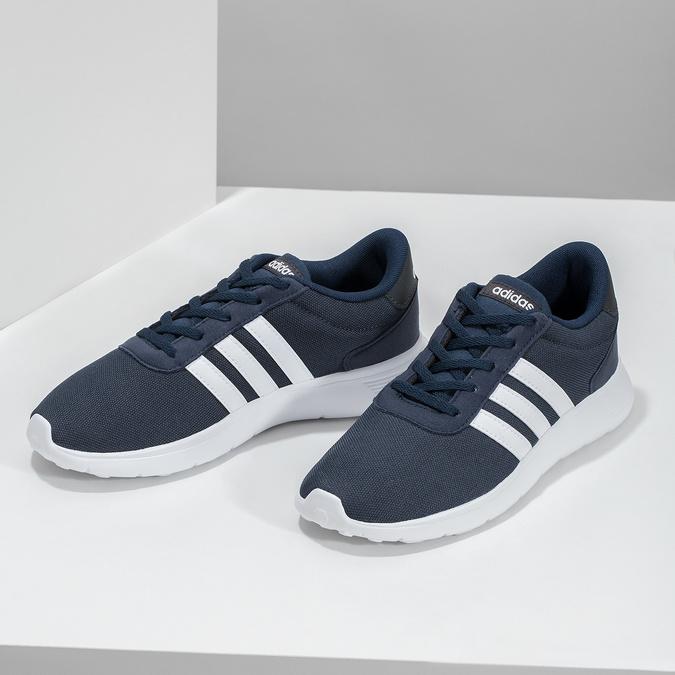 Modré chlapecké tenisky sportovního střihu adidas, modrá, 409-9388 - 16