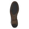 Kožené pánské mokasíny černé bata, černá, 814-6128 - 18