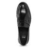 Pánské kožené mokasíny černé bata, černá, 814-6177 - 17