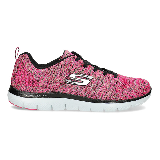 Růžové tenisky Skechers skechers, růžová, 509-5530 - 19