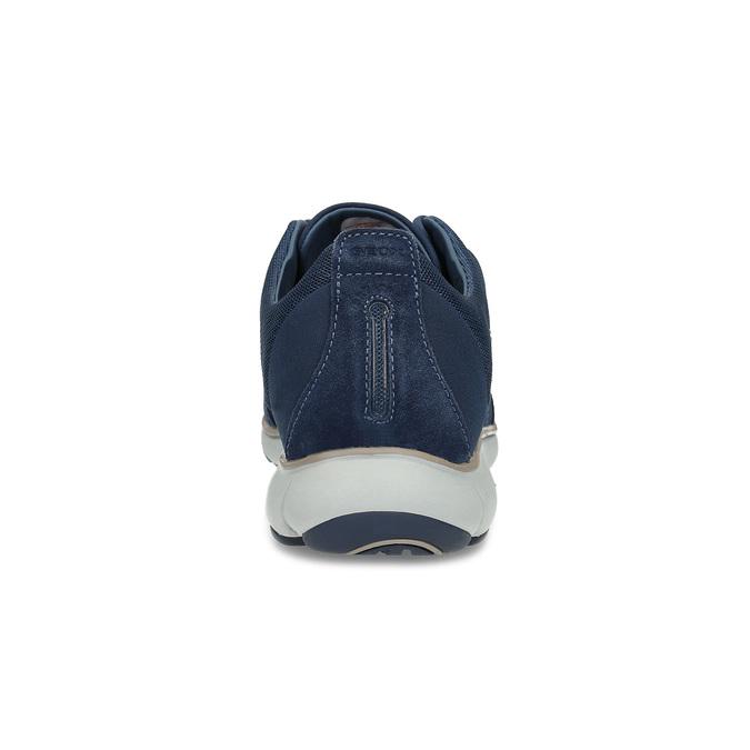 Pánské ležérní tenisky modré geox, modrá, 849-9002 - 15