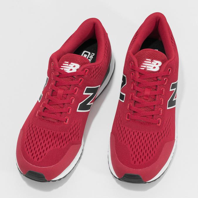 Pánské červené tenisky New Balance new-balance, červená, 809-5739 - 16