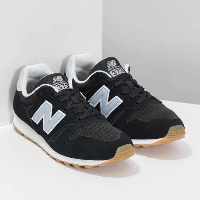 Pánské kožené tenisky New Balance 373 new-balance, černá, 803-6207 - 26