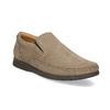 Kožené pánské mokasíny ve stylu Loafers comfit, béžová, 816-8600 - 13