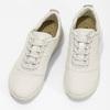 Dámské kožené bílé tenisky geox, béžová, 549-1001 - 16