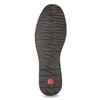Pánské kožené sandály s pohodlnou podešví comfit, hnědá, 854-4602 - 18