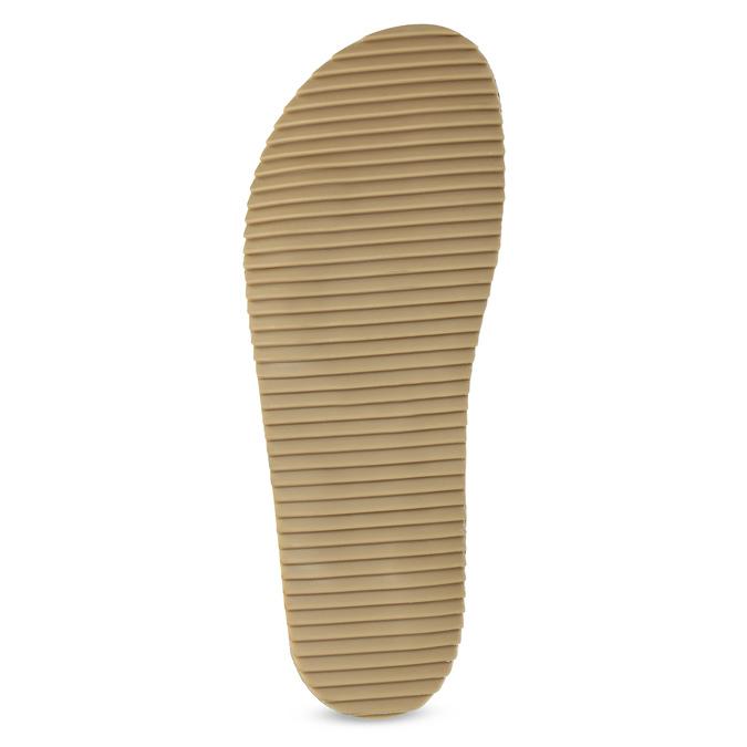 Khaki kožené nazouváky bata, khaki, 866-7647 - 18