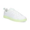 Dámské bílé tenisky se zelenou podešví adidas, bílá, 501-1733 - 13
