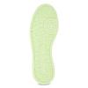 Dámské bílé tenisky se zelenou podešví adidas, bílá, 501-1733 - 18