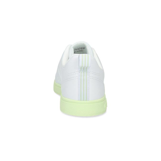 Dámské bílé tenisky se zelenou podešví adidas, bílá, 501-1733 - 15