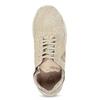 Tenisky z broušené kůže béžové le-coq-sportif, béžová, 503-3308 - 17