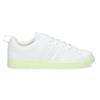 Dámské bílé tenisky se zelenou podešví adidas, bílá, 501-1733 - 19