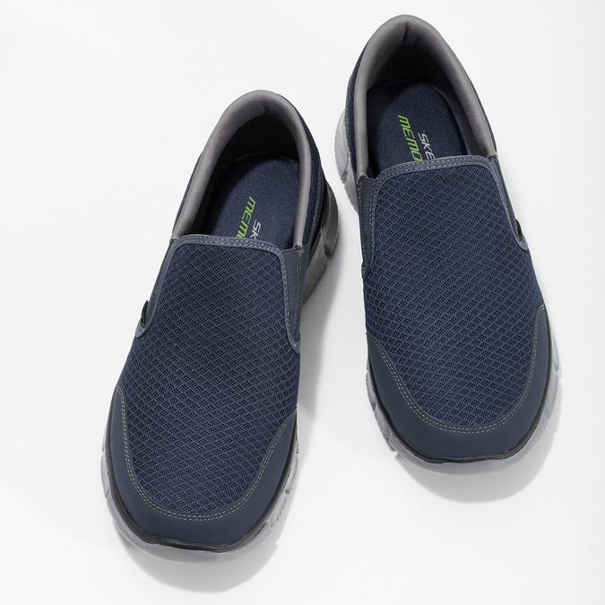 Slip-on sportovního střihu skechers, modrá, 809-9147 - 16