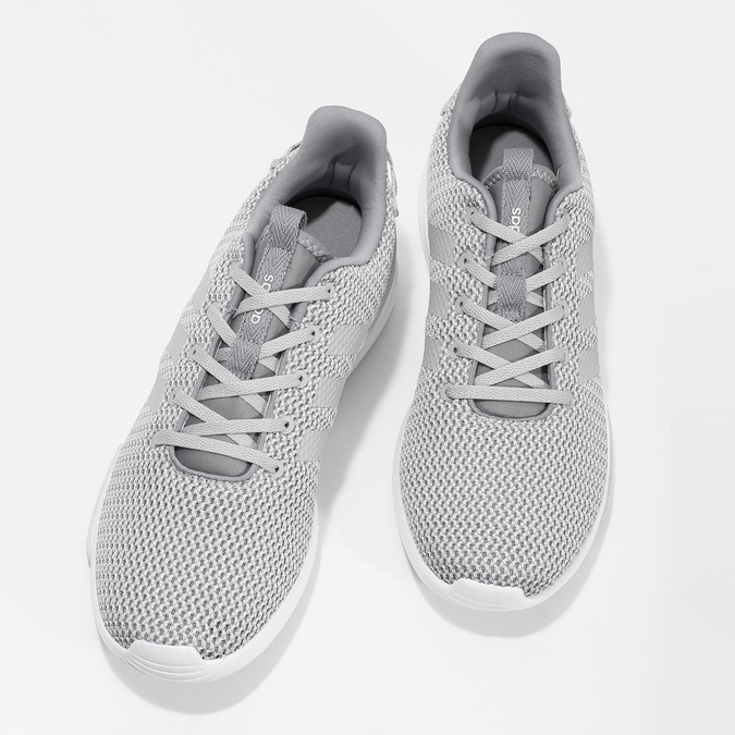 Pánské šedé tenisky adidas, šedá, 809-2601 - 16