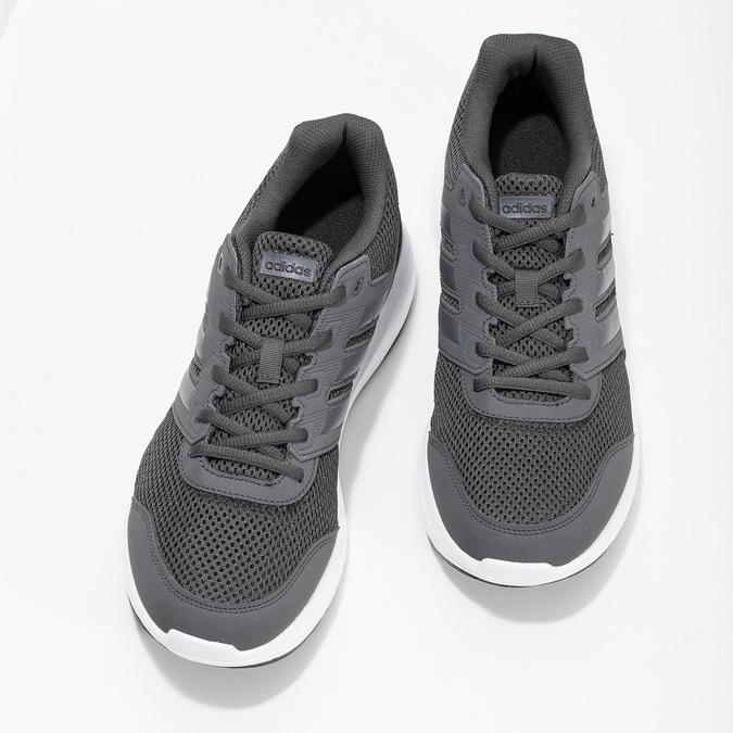 Šedé pánské tenisky adidas, šedá, 809-6396 - 16