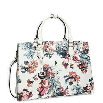 Dámská kabelka s květinovým vzorem bílá picard, vícebarevné, 961-8055 - 13