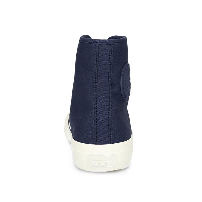 Pánské kotníčkové tenisky modré bata-bullets, modrá, 889-9243 - 15