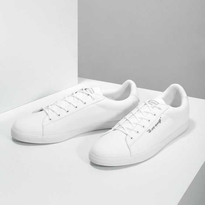 Dámské bílé tenisky le-coq-sportif, bílá, 589-1302 - 16