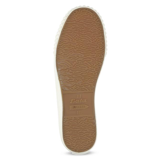Dámské kotníčkové tenisky s gumovou špičkou bata-bullets, béžová, 589-1330 - 18