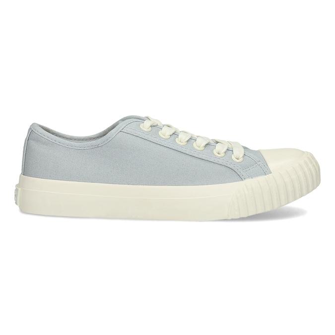 Světle modré dámské tenisky bata-bullets, modrá, 589-2333 - 19