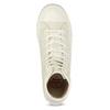 Dámské kotníčkové tenisky s gumovou špičkou bata-bullets, béžová, 589-1330 - 17