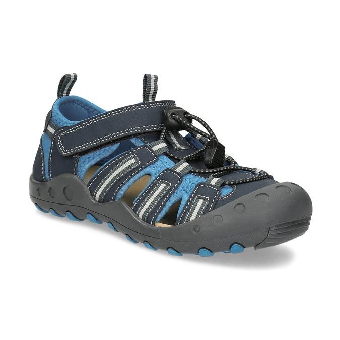 Dětské modré sandály mini-b, modrá, 461-9606 - 13