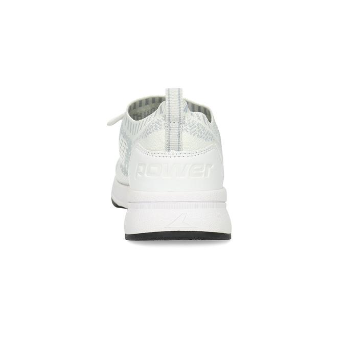 Dámské tenisky ve sportovním stylu power, bílá, 509-2217 - 15