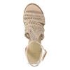 Proplétané sandály na platformě bata, růžová, 759-8633 - 17