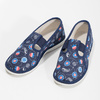 Modré dětské přezůvky se vzorem bata, modrá, 379-9012 - 16