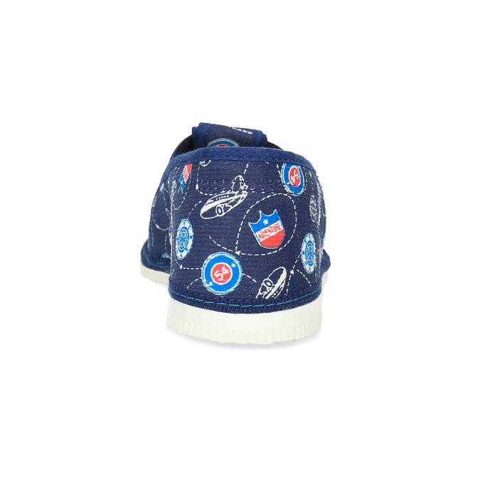 Dětské pantofle bata, modrá, 379-9012 - 15