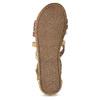 Páskové sandály v Etno stylu bullboxer, béžová, 361-8611 - 18