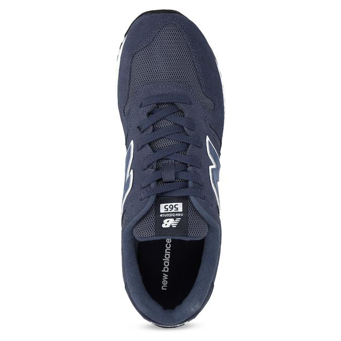 Tmavě modré pánské tenisky new-balance, modrá, 803-9277 - 17