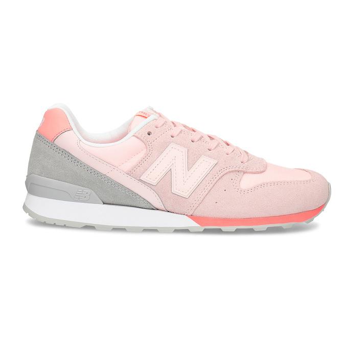 Dámské růžové tenisky new-balance, růžová, 503-5280 - 19