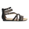Dívčí páskové sandály bullboxer, černá, 361-6610 - 19