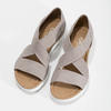 Kožené sandály šíře G gabor, béžová, 666-8347 - 16