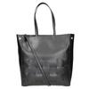Černá kabelka s proplétáním bata, černá, 961-6236 - 16
