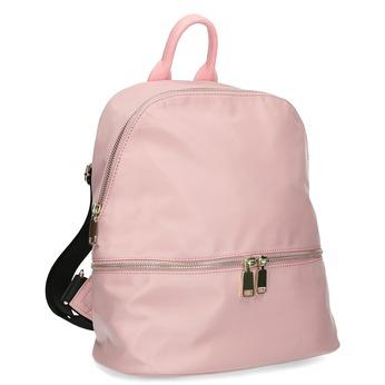 Dámský batůžek růžový bata, růžová, 969-9688 - 13